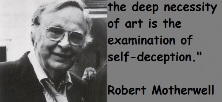 Robert Motherwell's birthday was celebrated at Modernnow